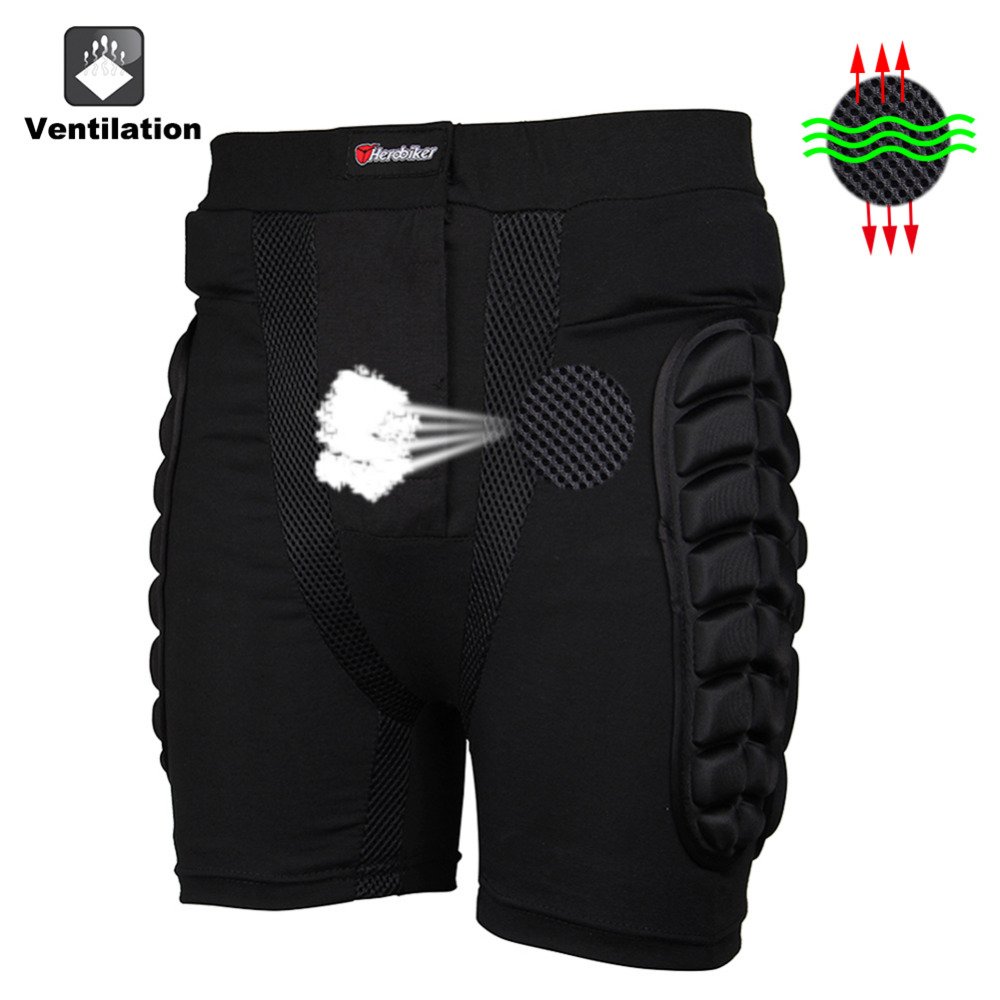 RDF Car-Styling Store  HEROBIKER Overland Motocross protector Motorcycle Armor Pants Leg Protection Riding Racing Equipment Gear Protective Hip Pad