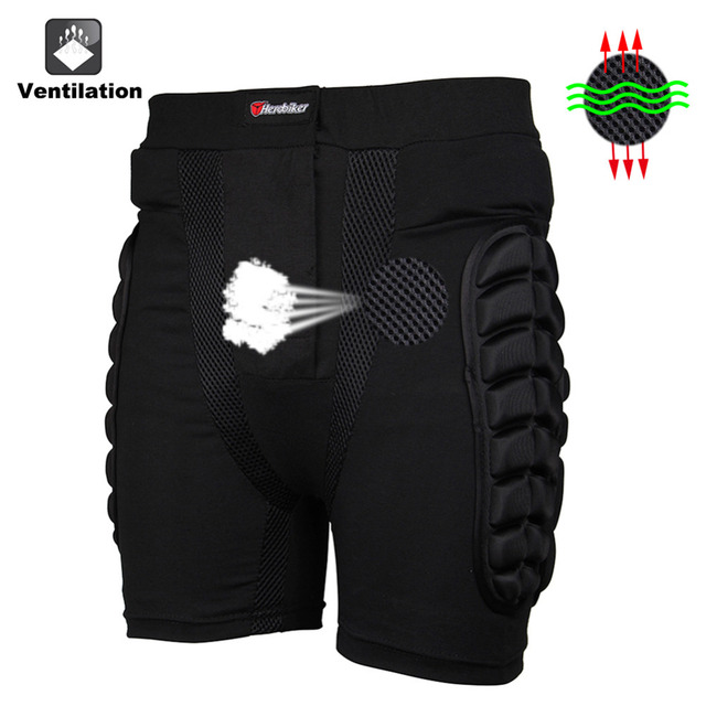 HEROBIKER Overland Motocross protector Motorcycle Armor Pants Leg Protection Riding Racing Equipment Gear Protective Hip Pad