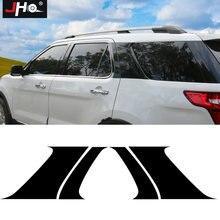 Jho окно скрытый c столб наклейки для ford explorer 2011 2019