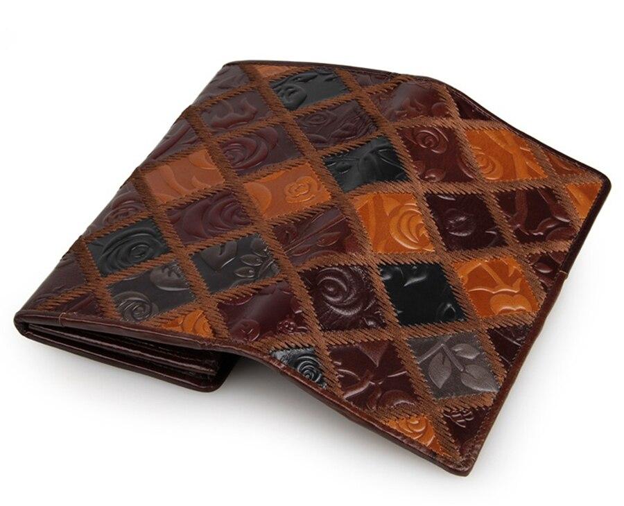 2017 camada frist de alta Estilo : Fashion Genuine Leather Wallet , women Wallets