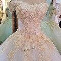 Champanhe flores turquia vestido de casamento do vintage 2018 puffy vestido de baile vestidos de noiva vestido de noiva renda plus size vestidos de casamento