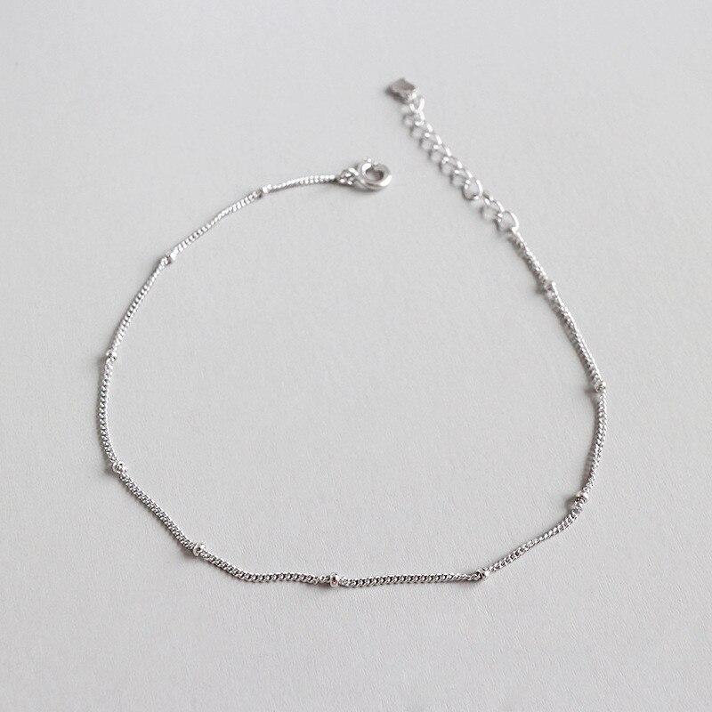 Silver Anklet 1
