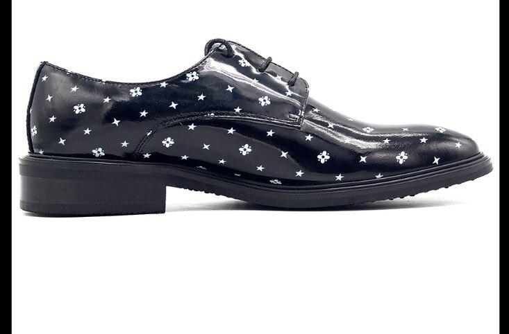 Copo Zapatos Superior Los De Primavera Vestir La Calidad As Oficina Genuino Pic Estilo Derby Hombres Nieve Punto Inglaterra Cuero F8f8w45q