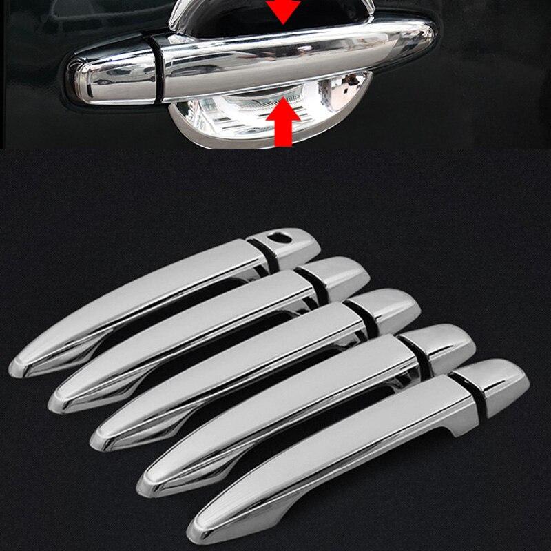 10 Pcs Auto Accessoires Deurgreep Cover Voor Toyota Prado Fj120 Land Cruiser Prado 120 2003 2004 2005 2006 2007 2008 2009
