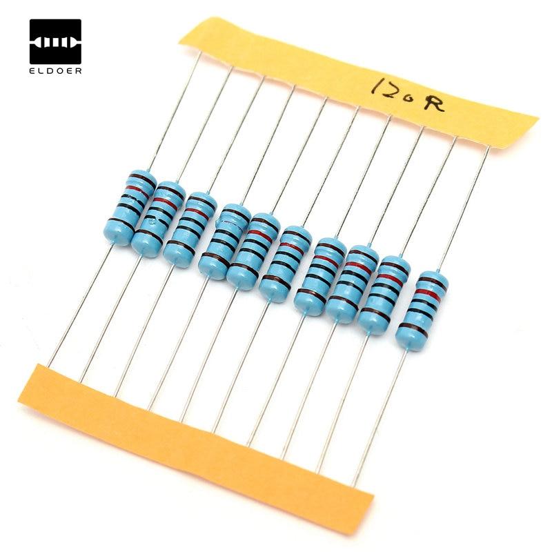 SEI 2W Watts Metal Oxide Resistor 820 OHM 820OHM Lot of 10 pieces