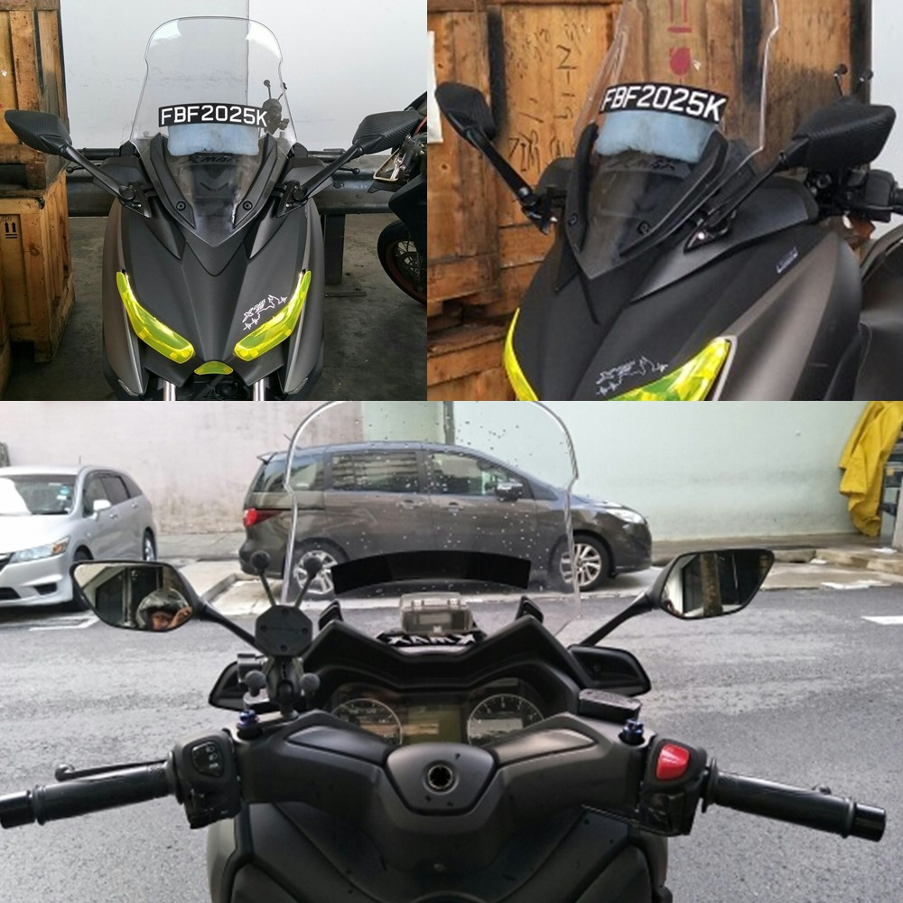 Motorcycle XMAX Bracket front Stand Holder Smartphone Mobile Phone GPS Plate mirror Bracket For Yamaha XMAX X-MAX 250 300 motorcycle modified front stand holder smartphone mobile phone bracket gps plate mirror bracket for yamaha xmax x max 250 300