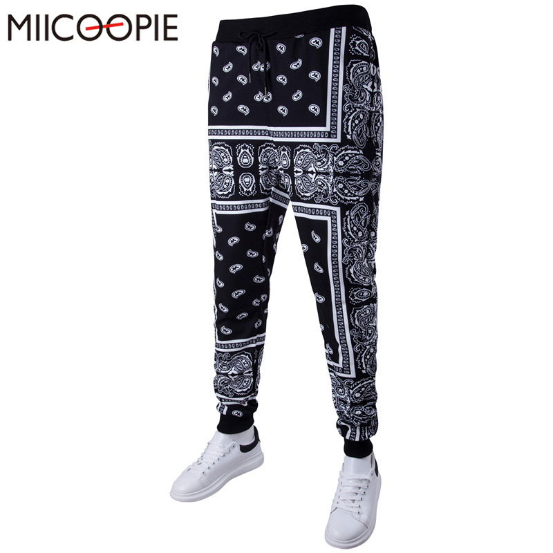 Harem-Pants Dancing-Trousers Slim-Fit Man Joggers Streetwear Hip-Hop Men's Casual Harajuku-Printed