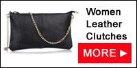 women leather clutches