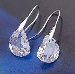 Simple elegant crystal earrings for women fashion jewelry  4ED394