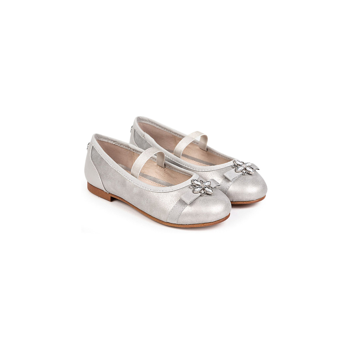MAYORAL Children's Flats 10644567 summer ballet all-season elegant footwear Shoes for girls girl silver