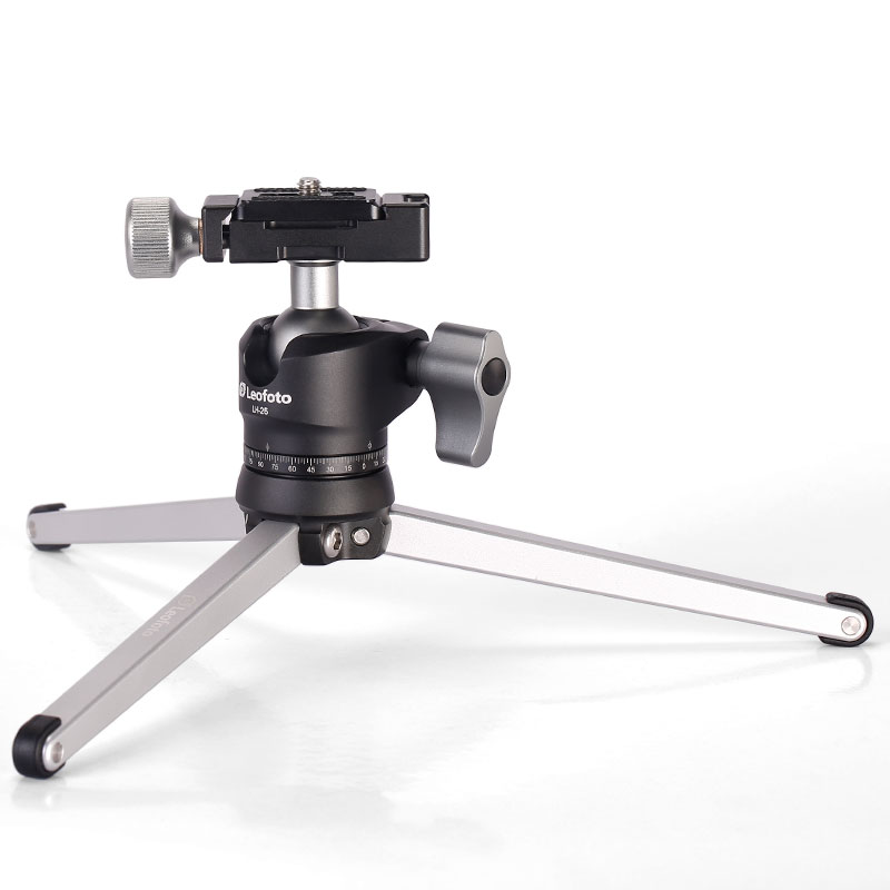 Mini Portable Table Tripod for Camera Desk Top Stand With Ball Head Similar with RRS TFA