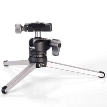 Mini Portable Table Tripod for Camera Desk Top Stand With Ball Head Similar with RRS TFA-01