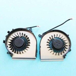 Image 4 - New original CPU GPU cooling fan For MSI GE72 GE62 PE60 PE70 GL62 GL72 fan Cooler PAAD06015SL N317 N318 0.55A DC 5V N303 N302