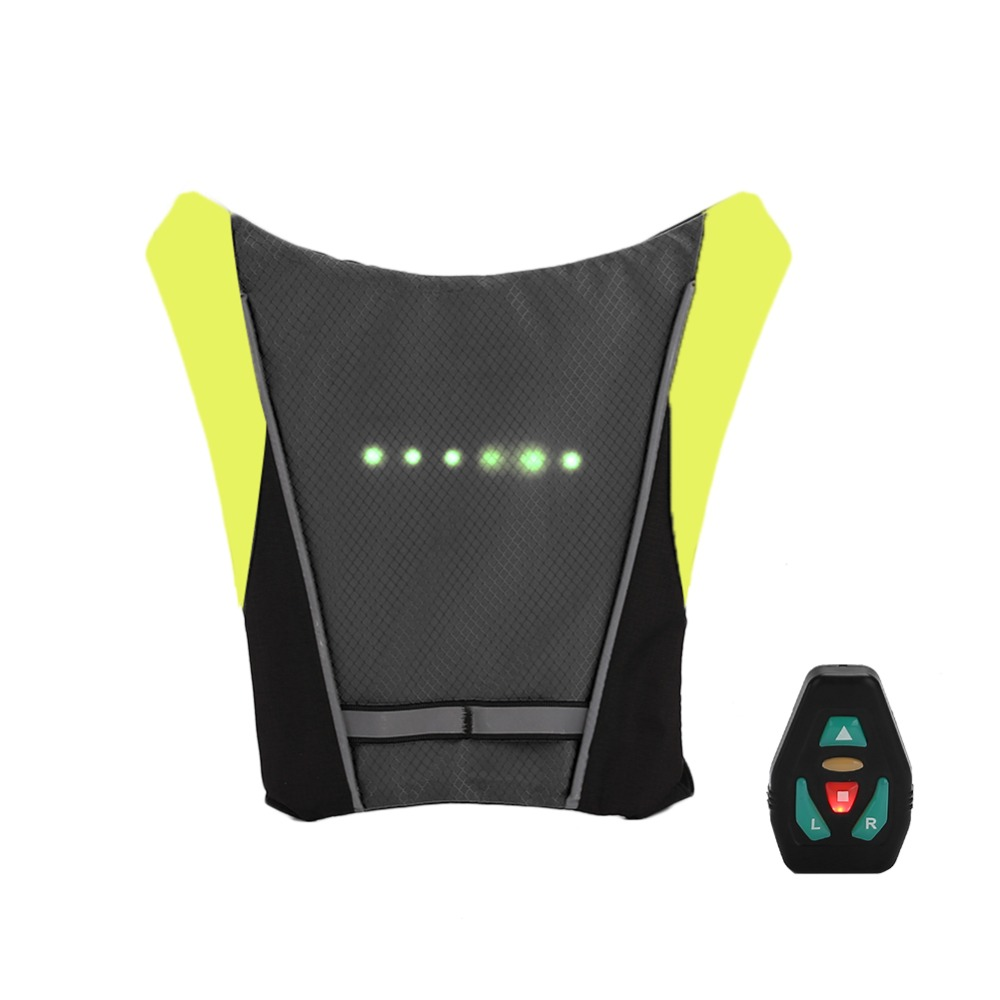 Bicycle Accessories Back To Search Resultssports & Entertainment Efficient Usb Charging Led Light Warning Vest Backpack Mtb Bike Bag Safety Led Signal Vests Warning Accessories