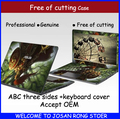 Latest Cartoon Laptop Case Notebook Computer Skin Protective Film Laptop Sticker For Asus X55 X55C Ventilating