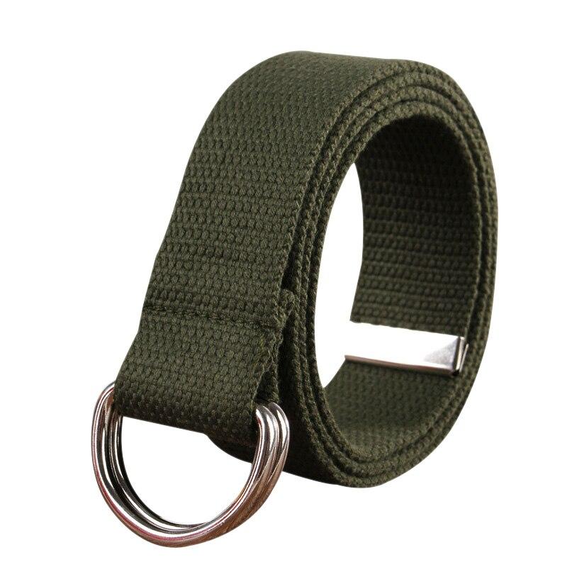 stretch women canvas waist belts for men elastic belt waisttrainer metal pin buckle jeans belt 13colors military blue red black
