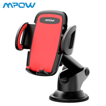 Mpow Car Phone Mount Holder Dashboard Stand with Telescoping Long Arm For 4-6 Inch Smartphone Or GPS Navigation