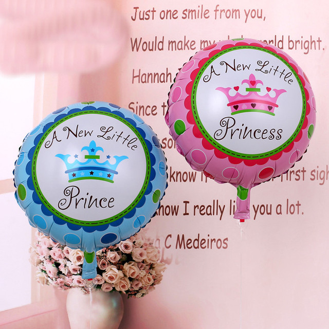 Aliexpress Buy 2pcs A New Little Princess Baby Shower Prince