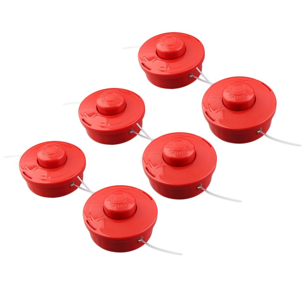 6PCS/10pcs High Strength Vibration Free Operation Bump Feed Head Line Brushcutter Whipper Snipper Trimmer Artifical Grass Lawn