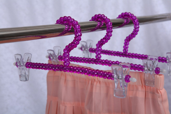 [Free shipping] High Quality Purple Acrylic Pants Hanger,Beads Hanger for Skirt (20 pieces/ Lot) фото