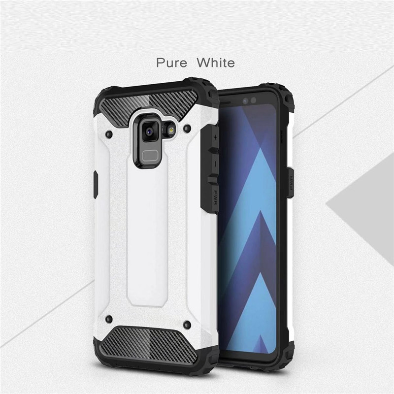 2in1 <font><b>Cases</b></font> For <font><b>Samsung</b></font> Galaxy A5 <font><b>A7</b></font> <font><b>2018</b></font> A3 A9 2016 Duos with dual-SIM card slots <font><b>A730F</b></font> <font><b>A730F</b></font>/DS Combo Robot Back Cover Bags image