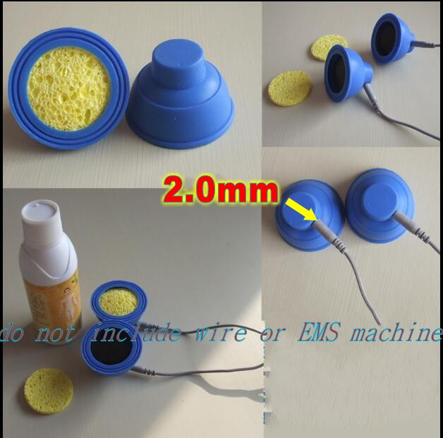 popular suction negative pressure electrode pads for medicine leading therapy EMS Massager Nerve Stimulatorwith 2mm pin