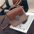 YBYT brand 2017 new saddle fashion patchwork satchel hotsale women joker evening purse ladies shoulder messenger crossbody bags