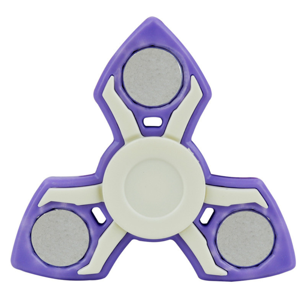 Creative Colorful Edge Finger Spinner Windmill Hand Gyro ADHD Focus Toy