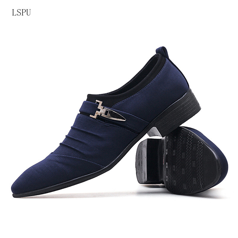 Menshoes Mens Formal Shoes Fashion Oxford Casual Breathable Hook/&Loop Anti-Skid Light Comfortable
