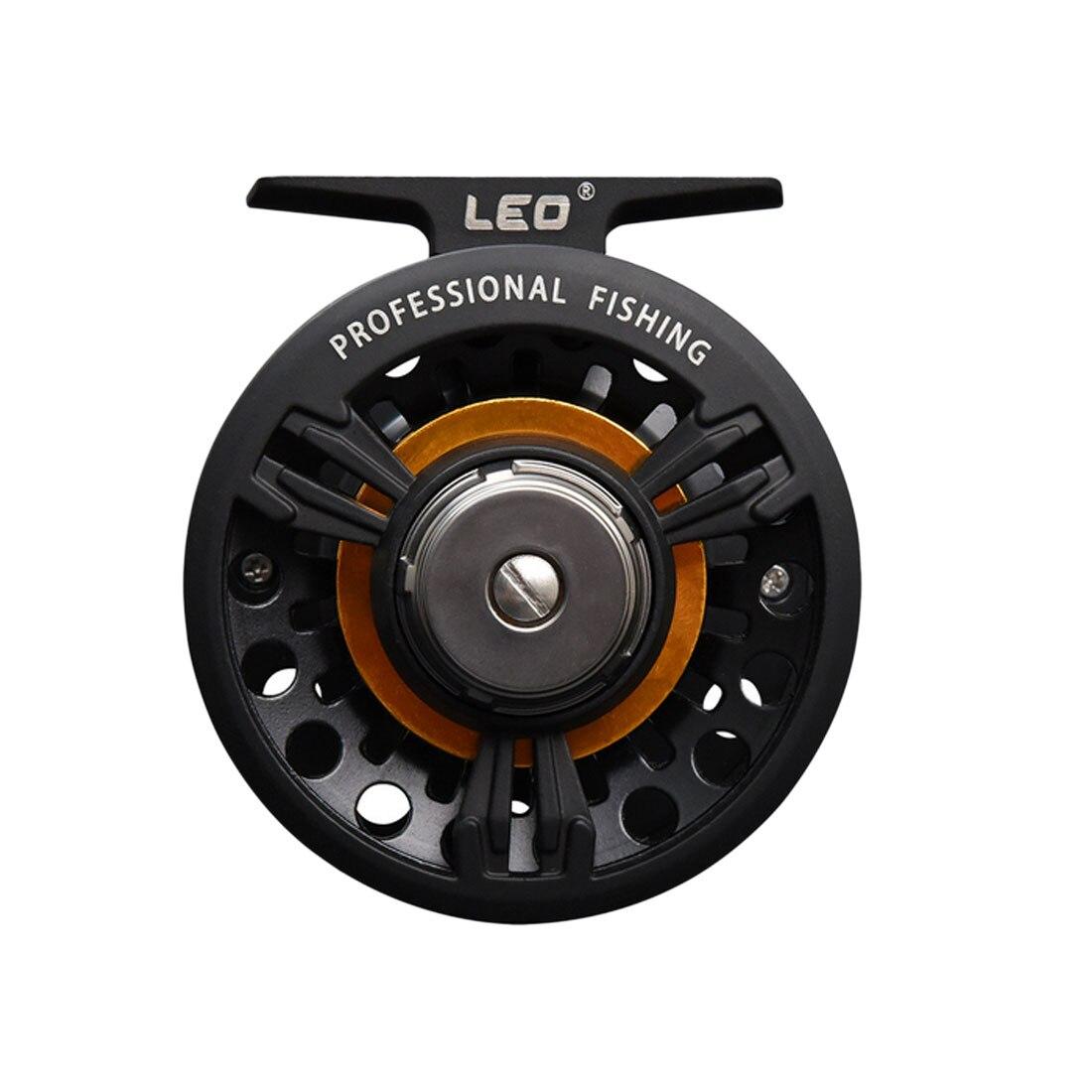 Interchangeable Full Metal Fly Fish Reel Fishing Wheel Carp LEO Left Right Former Rafting Ice Fishing Wheel