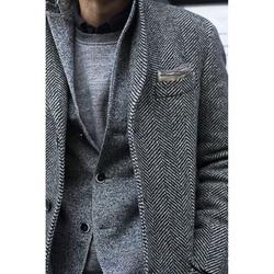 CUSTOM MADE Tweed Jas Blazer Jas, BESPOKE Tailored Heren Tweed Jas