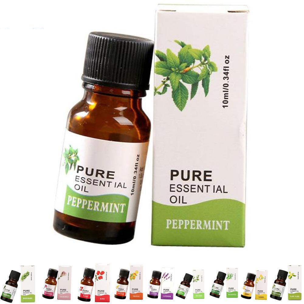 10 мл эфирные масла Натуральные эфирные масла 100% массаж эфирное масло розмарина герани эвкалипта несущего масла