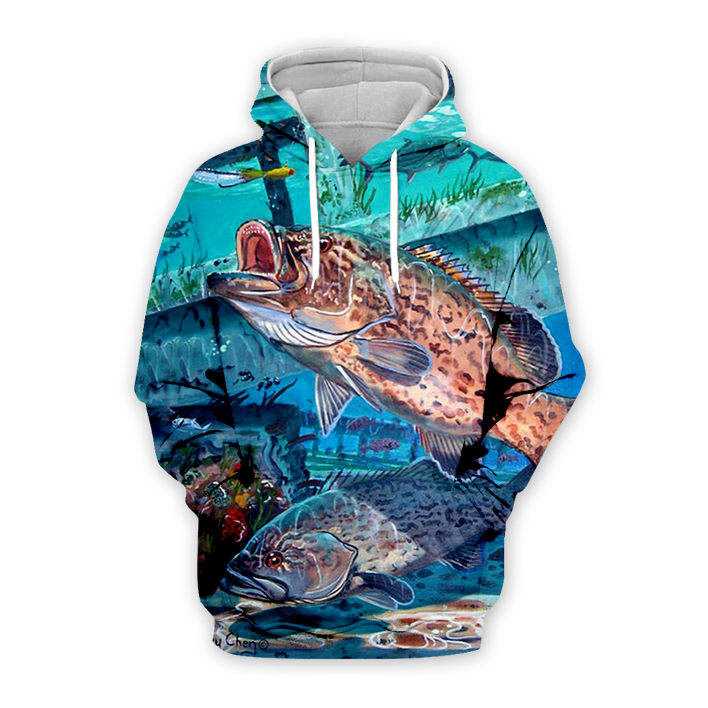 Plstar Cosmos 3D Fishing Clothes All Over Printed Shirts Tee 3D Print Hoodie/Sweatshirt/Jacket/Zipper Man Women Hip Hop Style-17