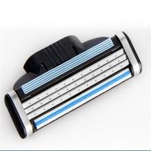 8piece/set Shaving Razor Blades For Men's Face Shaver Standard for RU&Euro,AAAAA Razor Blades Mache 3 Cassette For Shaving
