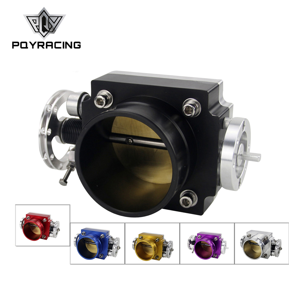 NEW THROTTLE BODY 70MM THROTTLE BODY PERFORMANCE INTAKE MANIFOLD BILLET ALUMINUM HIGH FLOW PQY6970 pqy racing free shipping new 90mm throttle body performance intake manifold billet aluminum high flow pqy6990