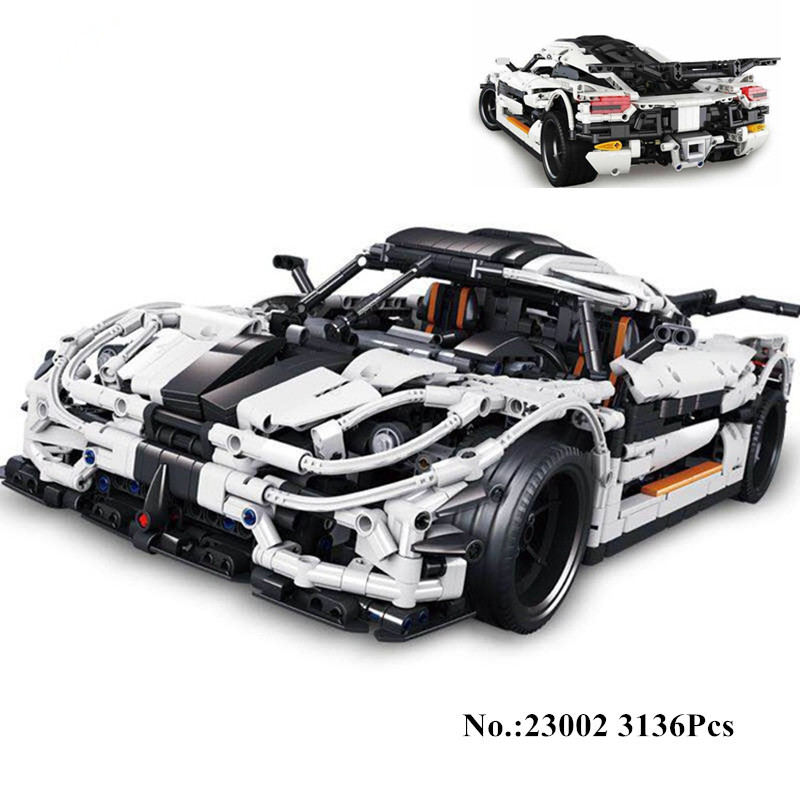 где купить In Stock H&HXY 23002 3136Pcs Technic Series The MOC Changing Racing Car Set Lepin Educational Building Blocks Bricks Toys по лучшей цене