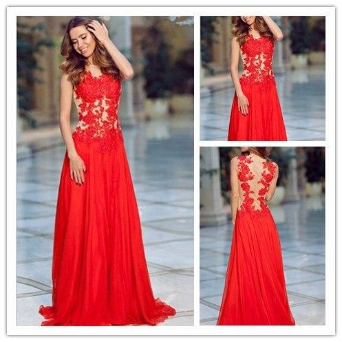 faf36635a0 Nuevo-dise%C3%B1o-2015-de-noche-vestidos-dorado-apliques-vestidos-opacidad- volver-prom-party-dress-vestidos-de