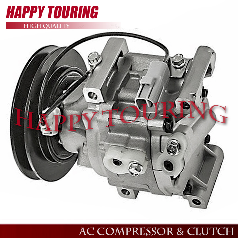US $111 25 11% OFF|SCSA06C AC Compressor For KUBOTA TRACTOR 6A671 97114  6A671 97110 6244536M92-in Air-conditioning Installation from Automobiles &