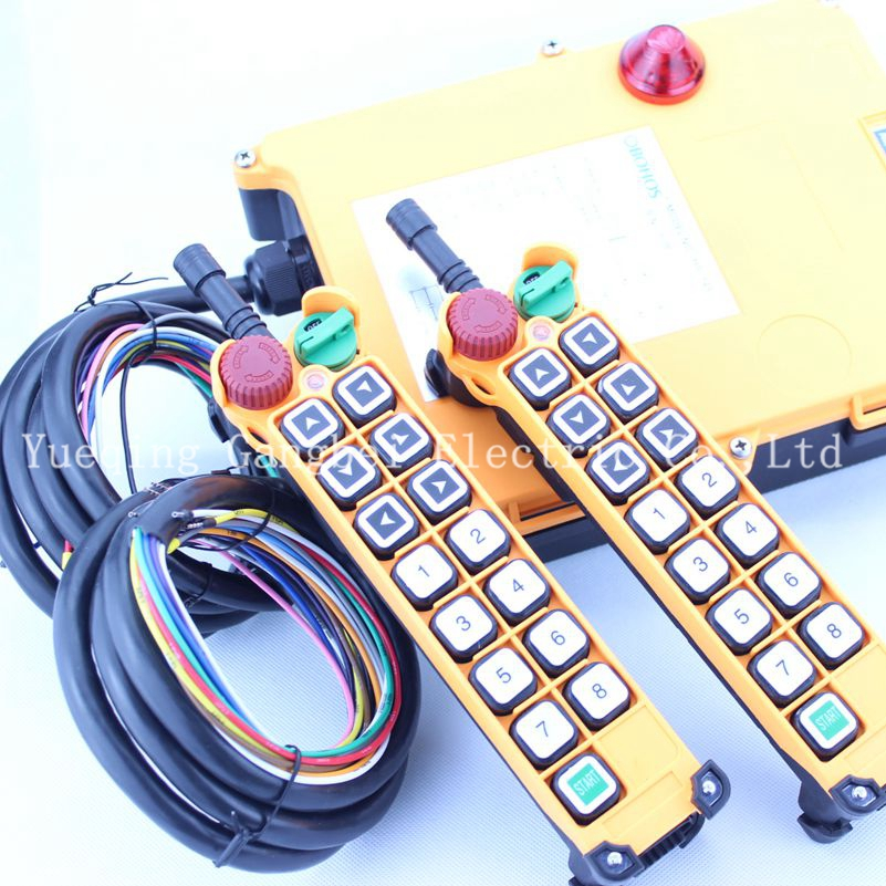 HS-14D (include 2 transmitter and 1 receiver)  crane remote control  Double speed with emergency stop borg illinois diy 10ml