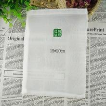 цена на 2pc/lot square 15*20cm fine mesh food grade home brew hop filter bag soup seasoning filter bag nylon mesh tea filter bag wine