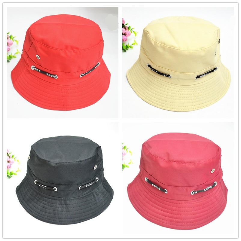 Mens Panama Bucket Hats Fishing Hat Waterproof Breathable Dark Blue Cap  Unisex Bob Hiking Sombrero Outdoor Gorro Polyester Hat eb34e39838a