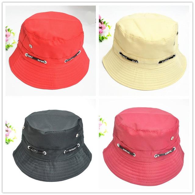 Mens Panama Bucket Hats Fishing Hat Waterproof Breathable Dark Blue Cap  Unisex Bob Hiking Sombrero Outdoor Gorro Polyester Hat b1041d4d7d4