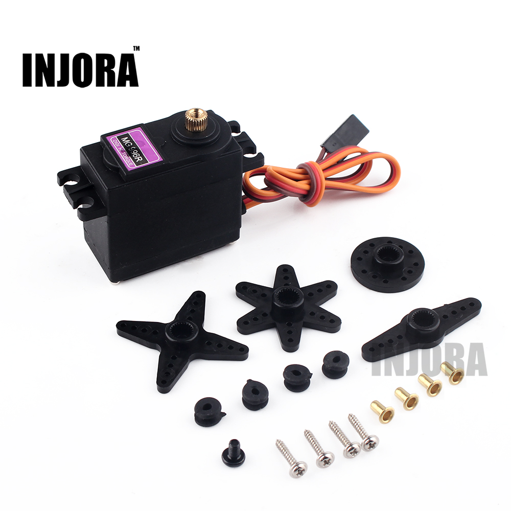 1PCS MG996R Servo Metal Gear for Futaba JR RC Car RC Boat RC Helicopter Model Parts free shipping high quality metal digital robot servo rds3115 15kg for futaba jr rc car helicopter airplane robot machine