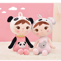 Hot Sale 1pcs 50cm Genuine Metoo Cartoon Angela Plush Toys Cute Soft PP Cotton Dolls Girls for Children Birthday Christmas Gifts