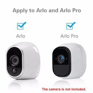 Image 4 - 3 шт. металлических настенных/потолочных креплений для внутренней и наружной камеры видеонаблюдения, кронштейн для камеры видеонаблюдения Arlo или Arlo Pro