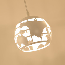 Modern Pendant Hanging Lamp Living Room Dining Room Loft Kitchen E27 Rope Light Fixture Decor Home Lighting White Metal 110-220V цена