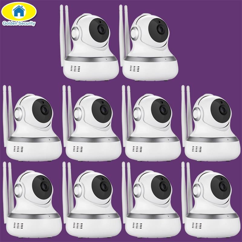10 шт./лот 720 P Cloud Storage Cam Wi Fi IP Камера обнаружения движения приложение Remote Видеоняни и радионяни безопасности Камера для 2018