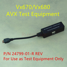 Verifone 99% New Vx680 VX670 test cable P/N 24799-01-R REV A опрессовщик voll v test 50 r