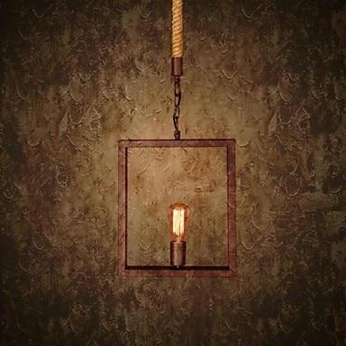 60W Retro Country Loft Style Vintage Industrial Pendant Lighting Lamp For Home Lighting,Foscarini Lustre Para Sala