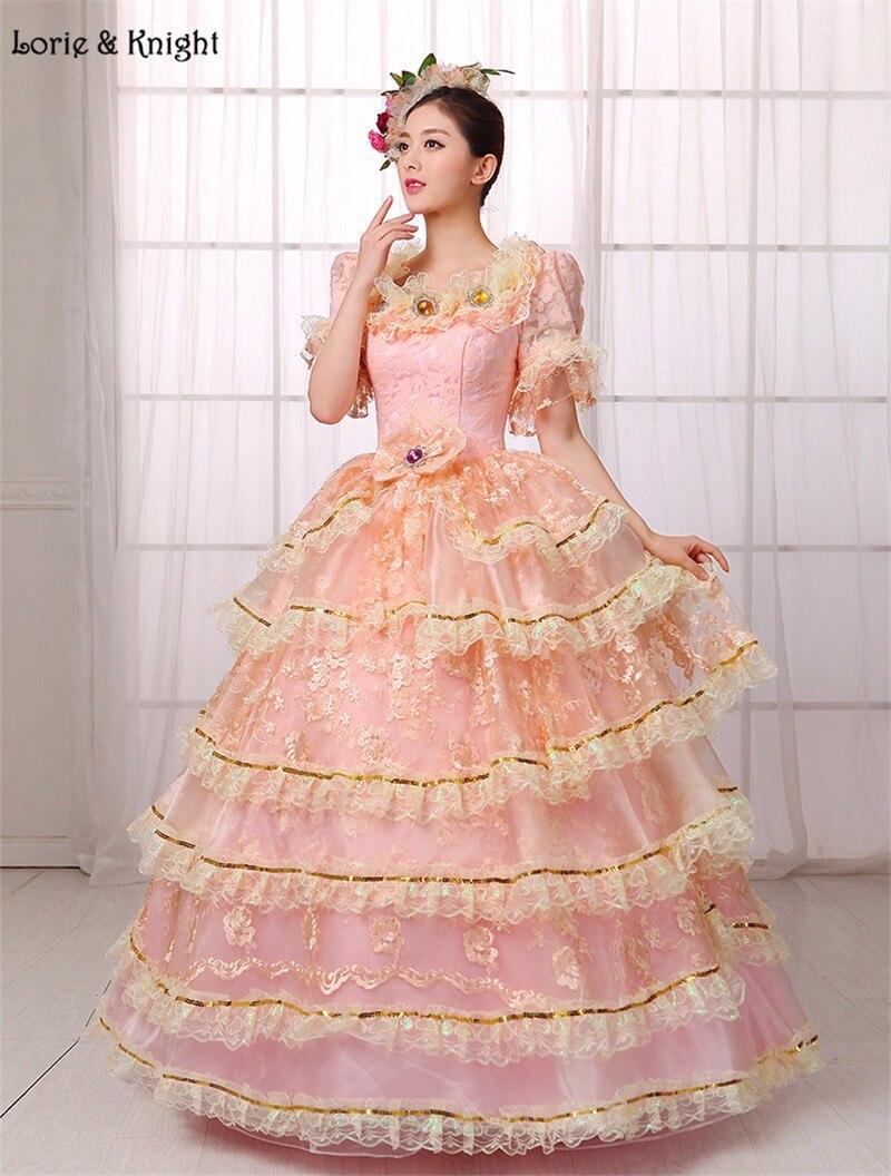 Princess Sissi & Marie Antoinette Dress Inspired Royal Ball Gowns ...